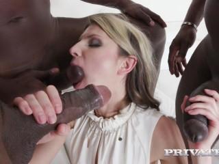 Gina Gerson - Hardcore Interracial Gangbang FullHD 1080p