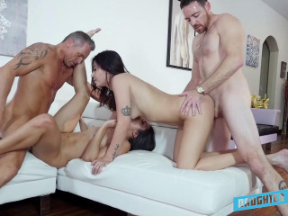 Gina Valentina & Aria Lee & Xianna Hill & etc - Daughter-in-law Exchange Compilation 3