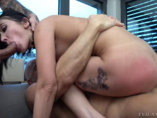 Angie Moon Double Anal