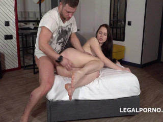 Mr. Anderson's Anal Casting with Nikki Hill Balls Deep Anal