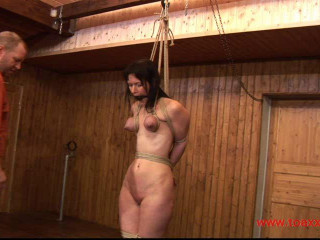 Toaxxx - Yvette in a hard Breast Predicament