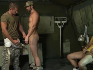 Army Sluts In Rough Fuck