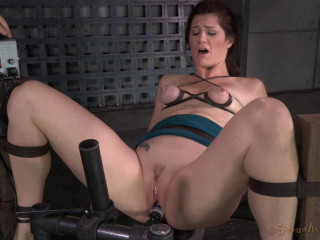 Cici Rhodes Throatboarded By 2 Dicks While Restrained - HD 720p