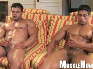 MuscleHunks - Brad Hatcher & Pepe Mendoza - Tea For Two