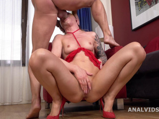 Mr. Anderson Anal invasion Audition With Monika Wild