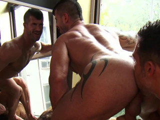 D.O. and Adam Killian Have Sweaty Sex HD