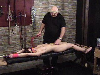 TB - Elise Bench Strapped and Flagellated