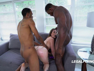 You gotta see Kat Monroes first nasty BBC DP one nasty fucking kat
