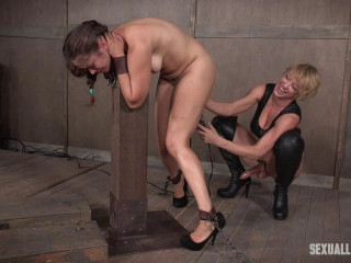 SexuallyBroken - Succulent lil' Ziggy Starlet is a greasy rope on slut!