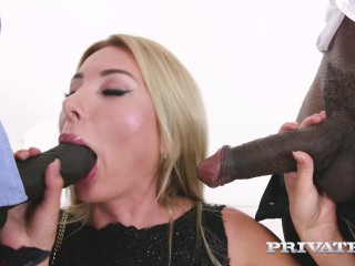 Marilyn Kristal Debuts with DP in Interracial Threesome FullHD 1080p