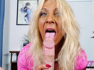 Mature Amateur Trans Sucks Dick And Loves It