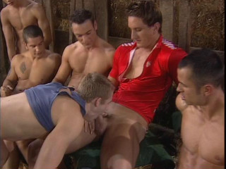 Spokes Orgy With Many Hard Cocks