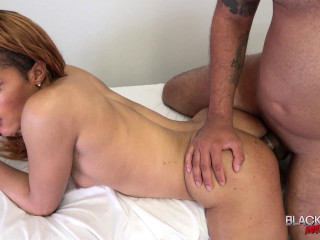 Masseuse Valerie Gets Her Ass Pounded!