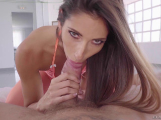 Dark-haired French Model Clea Gaultier Deepthroats and Plows Nacho Vidal