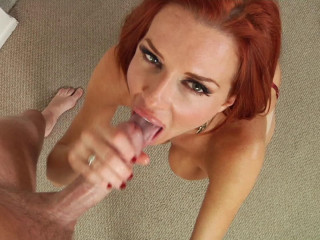 Mind-blowing Crimson Haired MILF Veronica Avluv Fellates His Stiffy