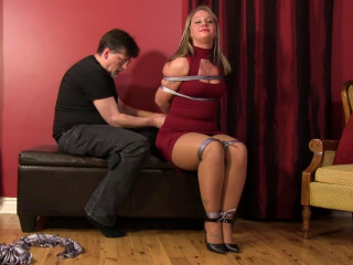 Blind Date Bondage Goes Bad starring Adara Jordin
