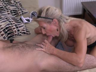 Josefine N - Horny housewife doing her toyboy FullHD 1080p