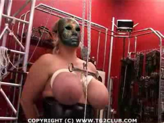 Waxing, electro-torture, aggressive spanking, bleeding breast torture