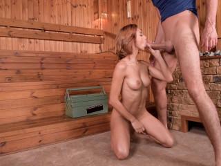 Veronica Leal - XXX Pussy Fuck In The Sauna FullHD 1080p
