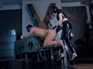 Latex Lucy - Take My Xxl Strap-On - HD 720p
