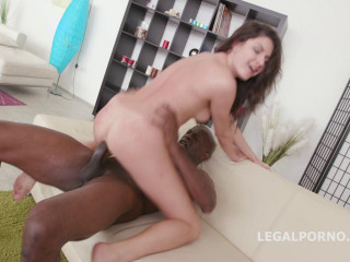 Black Buster, Francesca Dicaprio Beaten by Mike All Rectal (2016)