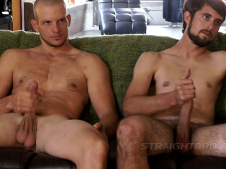 Straight Big Dick on Beau Flex & Russell