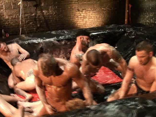Rough hole-stretching orgy