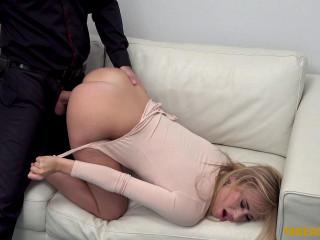Lindsey Cruz - Cute blonde loves hardcore casting