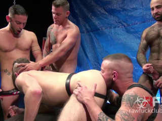Aiden Hart Gang Bang (Part 1)