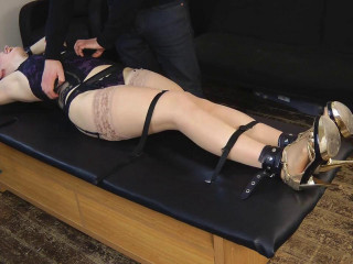UKTickling - Portia is Stretched Out, Stripped and Tickled into Hysterics