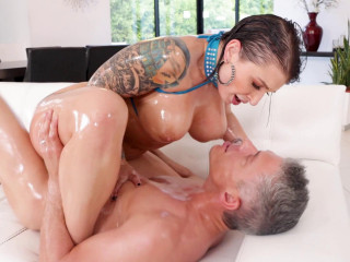 Bang Update Gets Her Tight Butthole Pulverized By Oily Dick 1080p