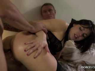 Ines Lenvin Sodomized In Front Of Her Husband
