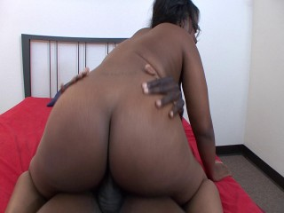 BBW blows and rides big black dong