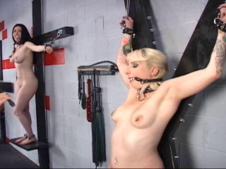 Two Girls Tormented Together