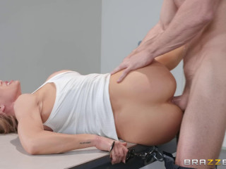 Pull out Of Force With A Super-fucking-hot Platinum-blonde