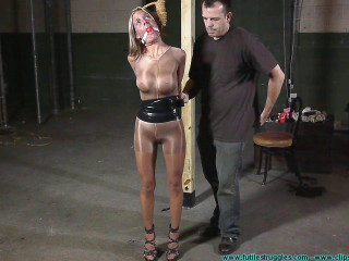 Armani Hogtaped 1part - BDSM, Humiliation, Torment HD 720p