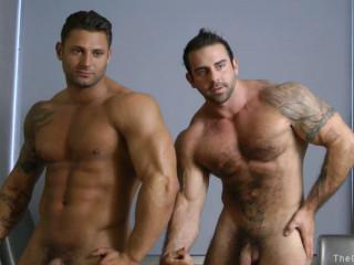 Dual Muscle (Mike Buffalari and Xavier)
