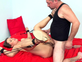 Crazy Chix Reloaded part 1 Savannah Secret - Extreme, Bondage, Caning