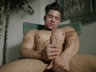 Handsome dreamy Fingering