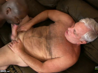 Steve Lucas Heads For Ebony Cock