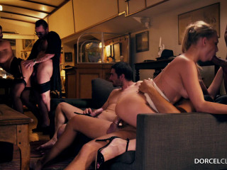 huge orgy blowjobs dp anal sex for anna lucy  2016