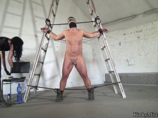 Lady luciana pain and milking