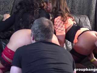 Sexi Susi & Pikety - Lesbian couple hardcore group fucked