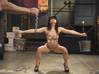 Gina Valentina Earns Her Cangue
