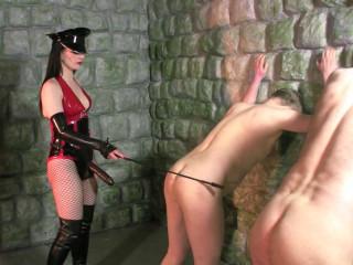 Mistress Rebekka's Butt Slut Brigade - Pegging Punishment Pt 5