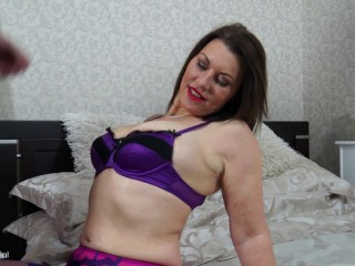 British big breasted MILF fucking and sucking