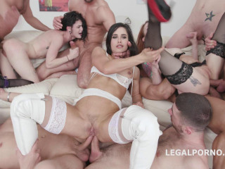 Insane Gangbang Party With Best Anal Sluts