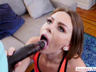 Alex Blake - Packing a Big Dark-hued Monster