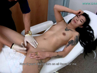 Hot czech Bella Morgan visits aged gynecologist (2012)