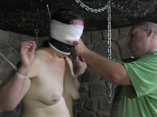 Hard Zip ties Bondage with Andreas